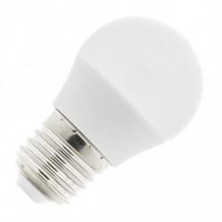 1 Lampe LED G45 E27 220V 5W Blanc Chaud 3000K