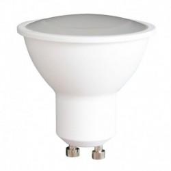 6 Lampes LED GU10 220V 5W Blanc Chaud 3000K
