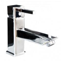 Mitigeur de lavabo bec long marque Sopal série Zarzis